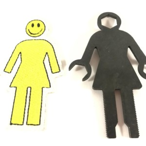 Lot Tool girl et patch