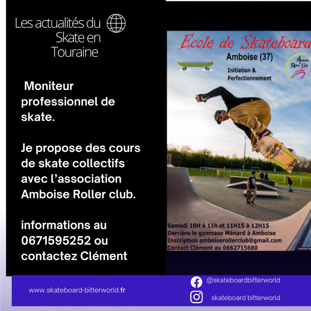 cours de skate